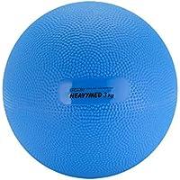 Gymnic Heavymed 3 Medicine Ball, Blue (17 cm, 3 kg / 6.6 lbs)