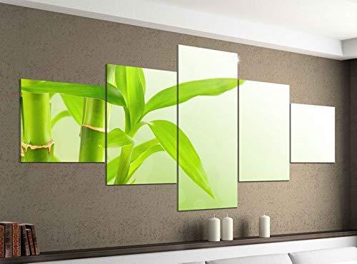 Acrylglasbilder 5 Teilig 200x100cm Wellness Bambus Feng Shui Massage Druck Acrylbild Acryl Acrylglas Bilder Bild 14F583