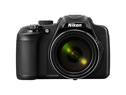 Nikon Coolpix P600 16.1MP Point and Shoot Camera (Black) with 60x Optical Zoom, Camera Case