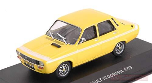 NEW Solido SL4303300 Renault 12 GORDINI 1970 Yellow 1:43 MODELLINO Die Cast Model