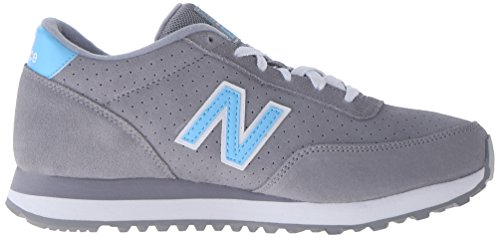New Balance Women's WL501 All Suede Pack Classic Running Shoe Grey/Blue