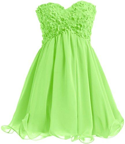 Missdressy - Robe - Plissée - Femme Vert - Vert