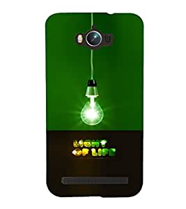 PRINTVISA Quotes Life Case Cover for Asus Zenfone Max