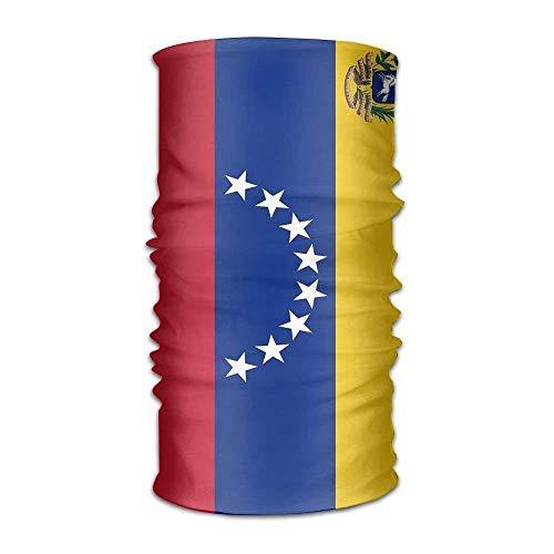 (False warm warm Venezuela Flag Unisex Outdoor Sport Scarf Headbands Bandana Mask Neck Gaiter Head Wrap Sweatband Headwear)