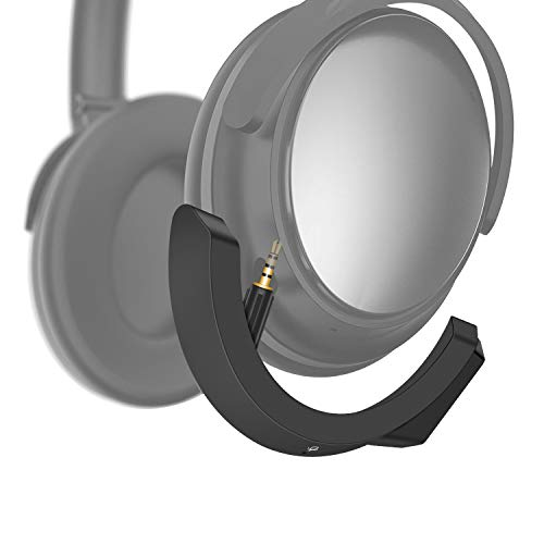 Adaptateur sans Fil Bluetooth 5.0 PushingBest QC 25 pour Casques Bose QuietComfort 25, Design Professionnel, additon QC 25, Noir
