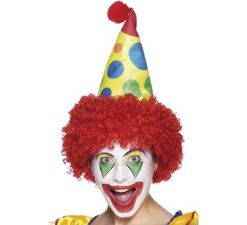 Clown Perücke mit Hut