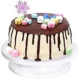 Ohuhu Plato Giratorio de la Torta Soporte de Decoraci¨®n de Pasteles Base giratoria 27*7 cm