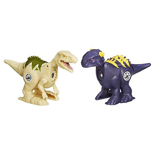 Jurásico Mundo brawlasaurs Ankylosaurus vs Indominus Rex figura Pack