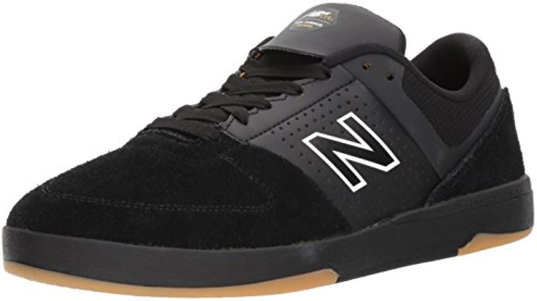 New Balance Numeric Schuh 533 V2 Schwarz Schwarz Wildleder
