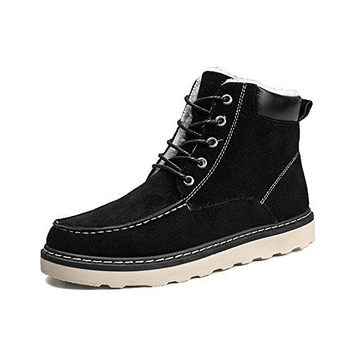 FEIFEI Hommes chaussures de haute qualité matériaux hiver anti-dérapant garder au chaud mode décontractée bottes de neige 3 couleurs