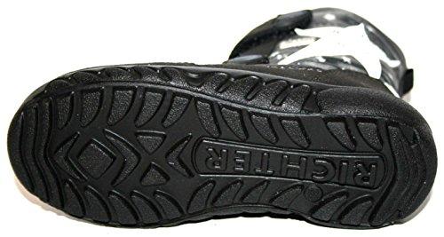 Juge 4331-221enfants Chaussures Filles Bottines pour femme Gris - Schwarz (schwarz/antrazit 9901)