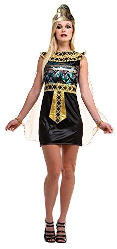 Bristol Novelty AC231 Ägyptisches Kleid, Gold, UK ()