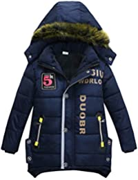 LPATTERN Junge Winter warme Baumwollkleidung Winterjacke