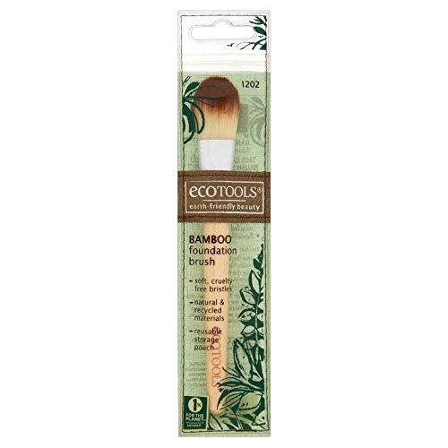 Eco Tools Bamboo Foundation Brush - Paquet de 6