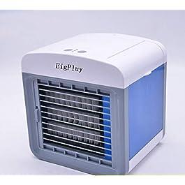 EigPluy Air Cooler Personali Climatizzatore Portatile Mini Raffreddatore D'aria Piccolo Ventilatore USB Dello Scrittorio…