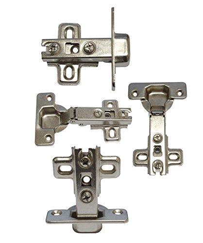 AERZETIX: Bisagras invisibles para puertas de armarios muebles (4 piezas) C4297