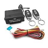 SeniorMar Sistema universale di apertura senza chiave Sistemi di allarme per auto Dispositivo Kit di telecomando per auto Blocco porta Veicolo Chiusura centralizzata e sblocco