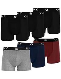 3 Pack Boxershorts Herren Boxer Shorts 1097 Farbe Schwarz Unterhose Grösse M