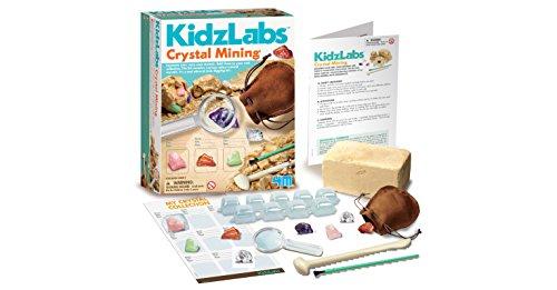Great Gizmos 4M Kidz Labs Crystal Mining