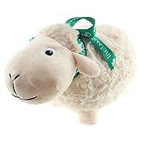 Dublin Gift White Soft Toy Sheep W/Ribbon