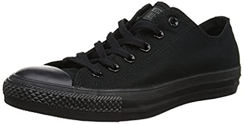 Converse Chuck Taylor All Star Mono Ox, Baskets mode mixte adulte -Noir - 42 EU (UK: 8.5 )