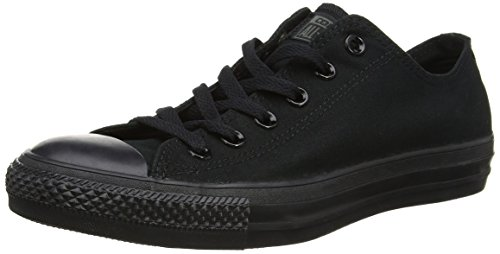 Converse Chuck Tailor All Star Sneakers, Unisex-adulto, Nero (Noir Mono), 36