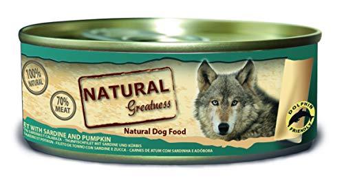 Natural Greatness Comida Húmeda para Perros de Filete de Atún y Sardinas....