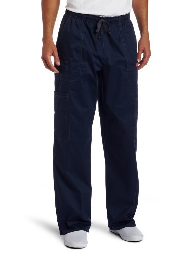Navy Medical Scrubs (Dickies Generation Flex Men's Youtility Scrub Pants,Navy,Large)