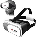 DMG Plastic 3D VR Headset Glasses Adjust Cardboard for 4.7-6.1-inch iPhones and Android Phones