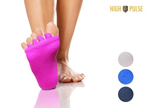 High Pulse Zehenspreizer Socken - Die sanfte Entspannung bei Hallux Valgus und Zehensfehlstellungen (Rosa) Test