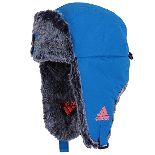 adidas-ClimaProof-Team-Russia-Ushanka-Russen-Muetze-Trapper- (OSFM - 58cm - Herren)