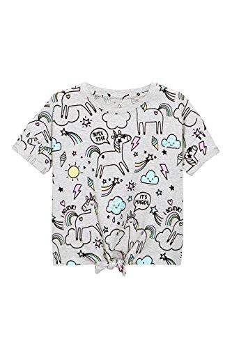 next-Fille-T-Shirt-Nou-Sur-Le-Devant-Avec-Motifs-Licornes-3--16-Ans