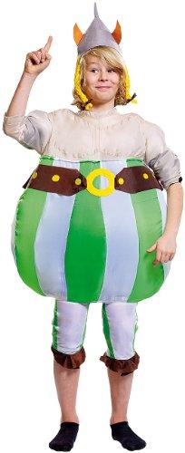 Playtastic Partykostüme: Selbstaufblasendes Kostüm Wikinger für Kinder bis Gr. 134 (Aufblasbare Fastnachtskostüme) (Kinder Kostüme Aufblasbare Für)
