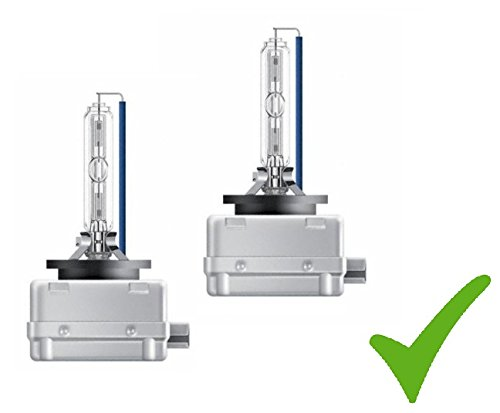 PRAKTISCHES DOPPELSET! 2 x AUTO-LAMPE D1S 35W PK32d-2 Xenon-Brenner Scheinwerfer-Lampe Xenon-Lampe Glübirne