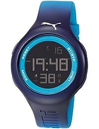 Loop L Puma Unisex-Armbanduhr Digital Quarz blau PU Strap PU910801030