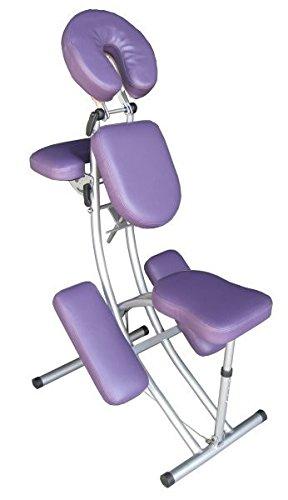 Foldable Aluminium Portable Massage Chair - PURPLE