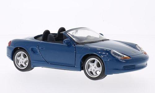 porsche-boxster-blau-modellauto-fertigmodell-maisto-124