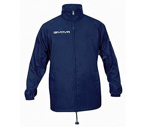 "Givova Fußball Regenjacke ""Basico"" Teamwear, navy, Gr. L"