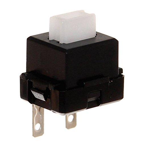 1 Mikrotaster Microswitch Schließer Taster Einbau Mikroschalter Endschalter 2-polig Pinball Joy-Button (Ersatz-endschalter)