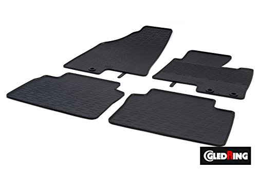 Ford Galaxy 2014-2015 Tailored Black Floor Car Mats B