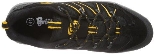 Bruetting Mount Hunter 211094 Unisex-Erwachsene Trekking & Wanderschuhe Schwarz (schwarz/gelb)