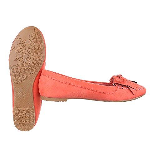 Ital-Design, Ballerine donna Corallo