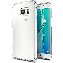 Samsung Galaxy S6 Edge Plus Funda, iVoler TPU Silicona Case Cover Dura Parachoques Carcasa Funda Bumper para Samsung Galaxy S6 Edge Plus, [Ultra-delgado] [Shock-Absorción] [Anti-Arañazos] [Transparente]- Garantía Incondicional de 18 Meses