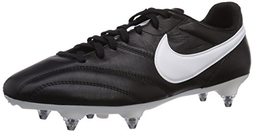 Nike Herren The Premier SG Fußballschuhe, Schwarz (Black/Summit White-Orange Blaze), 42 EU