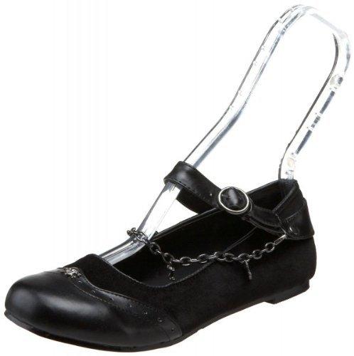 Higher-Heels - basso Donna Nero (velluto nero)