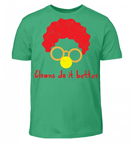 T-Shirt - Clown - Zirkus - Geschenk - Karneval - Kostüm - Circus - Gift: Clowns Do It Better (Circus Kostüme Ideen Für Kinder)