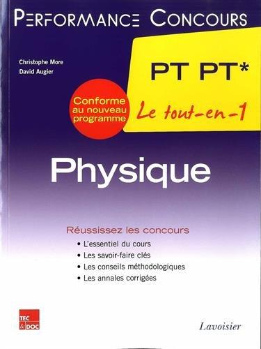 Physique 2e année PT PT*
