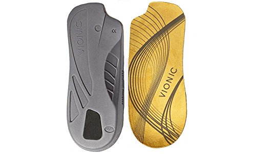 Vionic 3/4 Length Orthotics | Patented Lateral Cutaway | Takes Up Less Room by Vionic (Schuh Womens Athletic Casual)