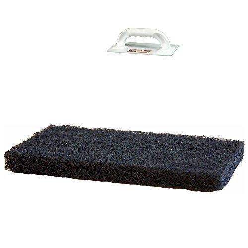 Padbrett-Belag 230 x 110 x 20 mm, schwarz/grob