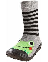 YanHoo Zapatos para niños Bebé Dibujos Animados Piso de algodón Calcetines Antideslizantes Suelas de Goma Zapatos de niño Zapatos de Goma Suave Zapatilla de Deporte Zapatos de otoño e Invierno